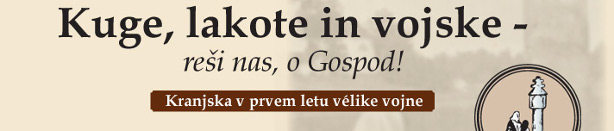 Naslovnica Kuge, lakote in vojske - reši nas o Gospod
