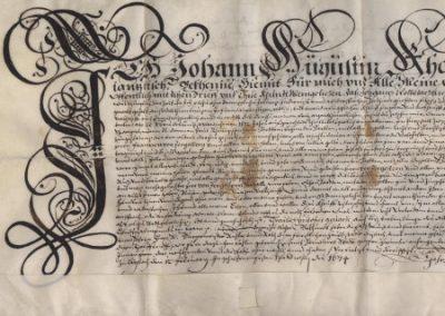 Listine iz Zbirke listin (Enota v Ljubljani), 1320–1955