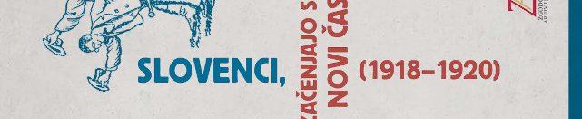 Brošura Slovenci, začenjajo se novi časi