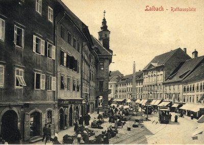 Razglednica Ljubljane, 1903
