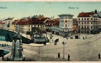 Razglednica Ljubljane, 1912