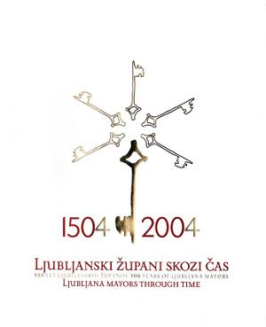 Naslovnica knjige Ljubljanski župani skozi čas