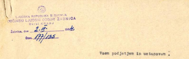 Arhivalija meseca (december 2015)
