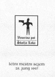 Logotip prireditve Venerina pot v Škofji Loki prikazuje del srednjeveškega svečnika v podobi paža. Hrani ga Loški muzej.
