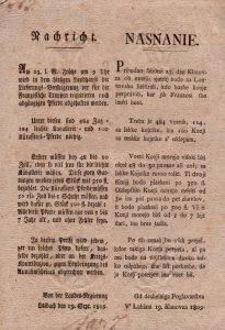 Oznanilo Deželnega poglavarstva v Ljubljani o zbiranju konj na Lontovžu (SI_ZAL_IDR/0055 Rudnik živega srebra Idrija, fasc. 913)